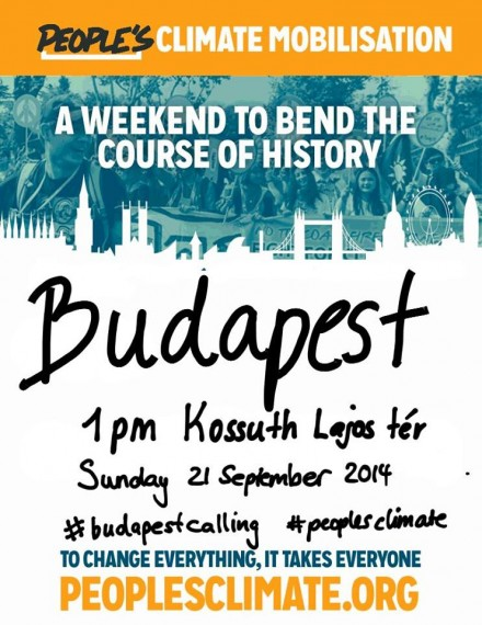 People's Climate March Budapest
