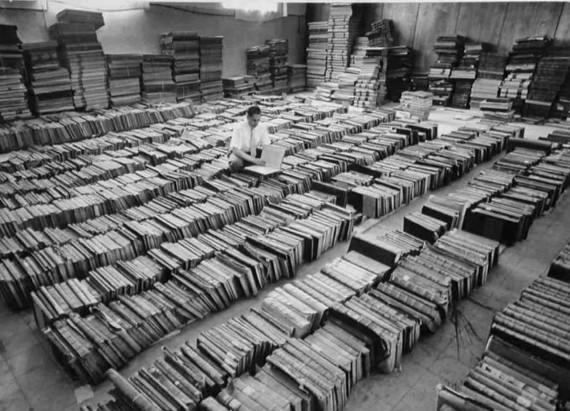 A Héber Egyetem Könyvraktárának Archívuma - Fotó: David Harris