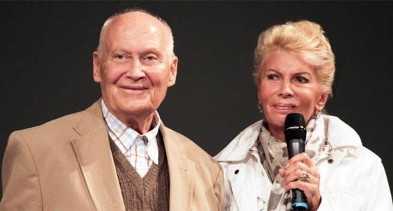Bert Hellinger a feleségével