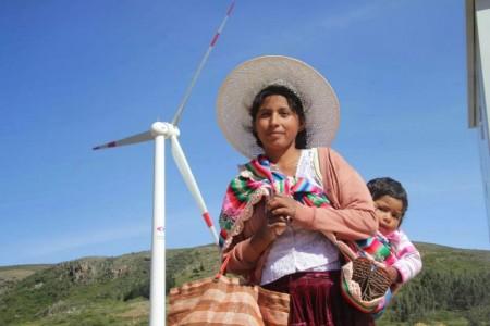 Bolívia első szélerőmű parkja tavaly januárban készült el (eerrbolivia.blogspot.com)