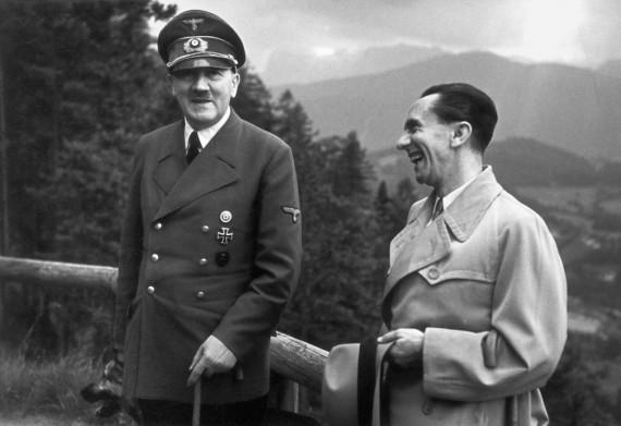 Adolf Hitler és Joseph Goebbels