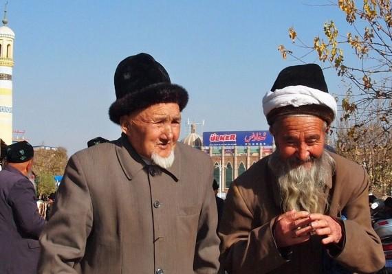 Kashgar - utcai pillanatfelvétel